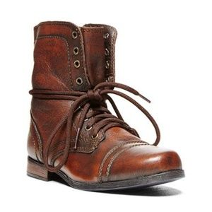Steve Madden Jtroopa leather boots
